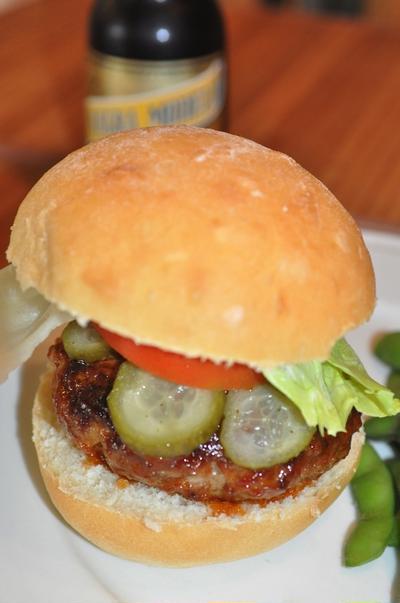 ロッキン家のホームメードハンバーガー