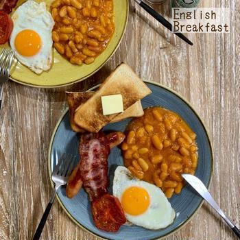 English Breakfast♡【#簡単レシピ#世界の朝ごはん】