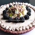 カナダの秋のフルーツで☆チョコムース フルーツタルト by hannoahさん