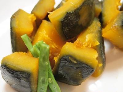 >『副菜 - かぼちゃの煮物』 132kcal - 一汁三菜レシピ by Japanese Kitchen by 料理研究家/栄養士 Yukiさん