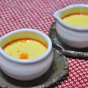 牡蠣の中華風茶碗蒸し