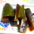 茄子と胡瓜の炒め漬物