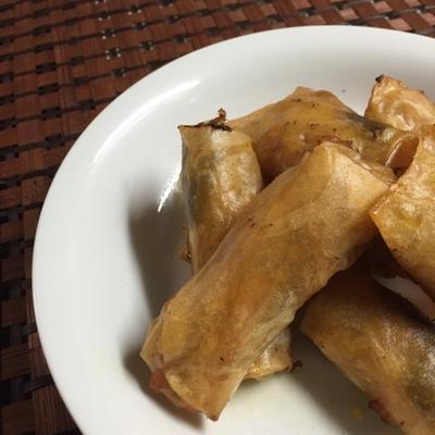酢豚をリメイク!高野豆腐で酢豚春巻き