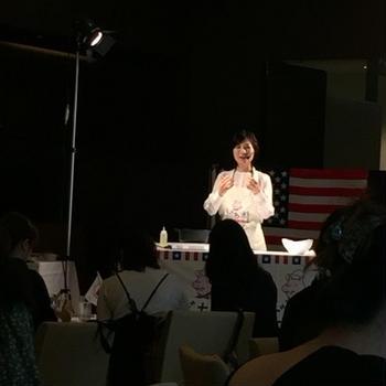 行正り香さんのとっておきレシピ、アメリカンポーククッキングセミナー