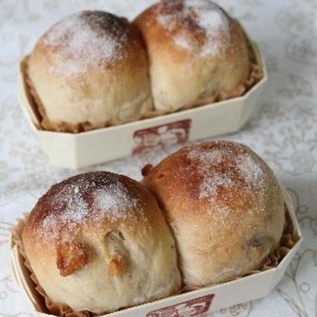 シュガートップの黒糖くるみパン