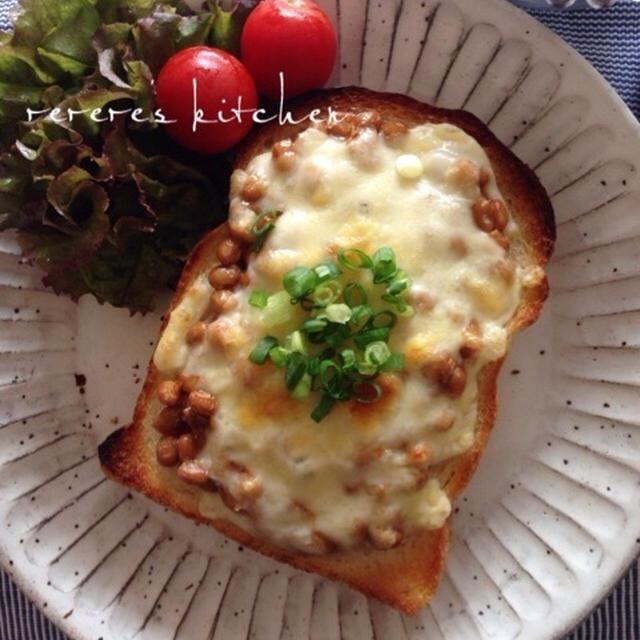 納豆チーズトーストと新学期