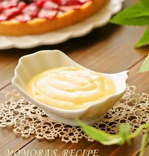 ホットケーキミックスと全卵♪レンジで超簡単カスタードクリーム