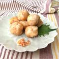【混ぜて揚げ焼きに!】お弁当にも♡おろし蓮根の桜えび団子♡レシピ