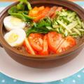 暑い日のワンプレートランチに♪トマト冷麺