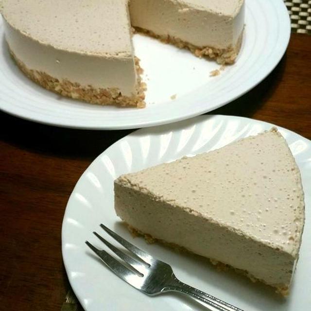 【掲載】フーディストノート(レシピブログ)★紅茶のムースケーキ♪キャラメルボトム♪