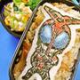 HeRoさんの仮面ライダーカブトキャラ弁/炊き込まない炊き込みごはん♪ by ケロヨンさん