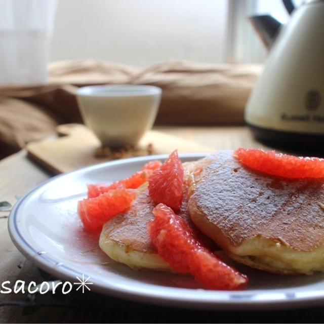 *HM粉で♪チーズケーキ風パンケーキと、激うまミスドの新作☆と、レアなドーナツ*