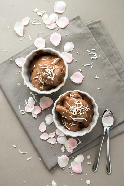 ダブルチョコレート・バナナアイスクリーム