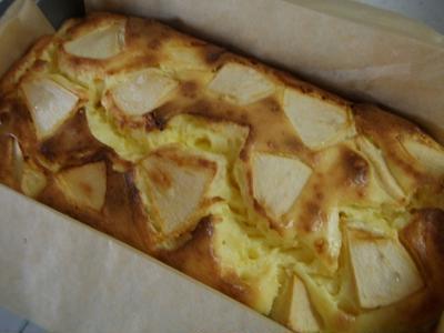 ベイクドアップルチーズケーキ