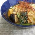 韓国風スープごはん。と、タラゴンさんの南瓜と豆腐白玉のメープル汁粉。 by 森崎 繭香さん