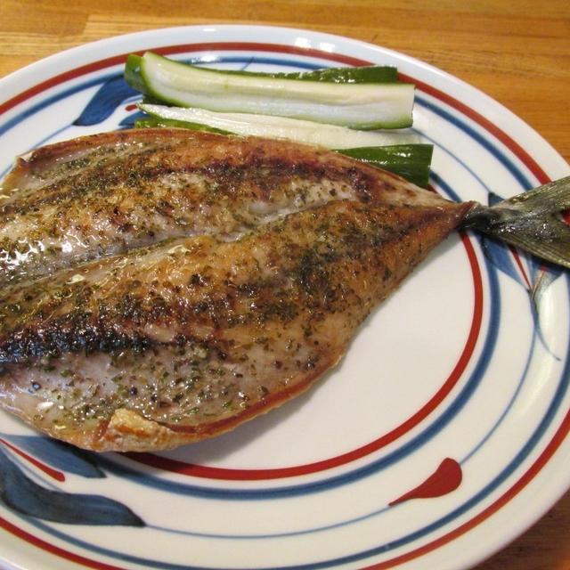 【旨魚料理】ゴマサバのハーブソルト干し