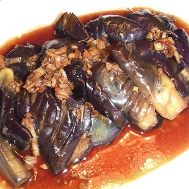 茄子の中華風前菜