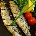【秋刀魚の塩焼き/ハマグリの澄まし汁で大根粥です♪】晩ご飯です。 by あきさん