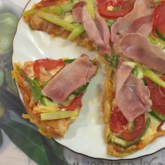 じゃがいもピザの作り方【フライパンで簡単・時短!】  by 食の贅沢/FoodLuxury
