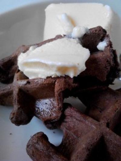 おやつ 『チョコレートワッフル』