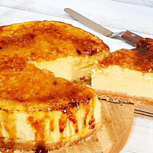 プレミアムブリュレチーズケーキの作り方