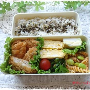 ☆とんかつ&チキンカツのお弁当☆