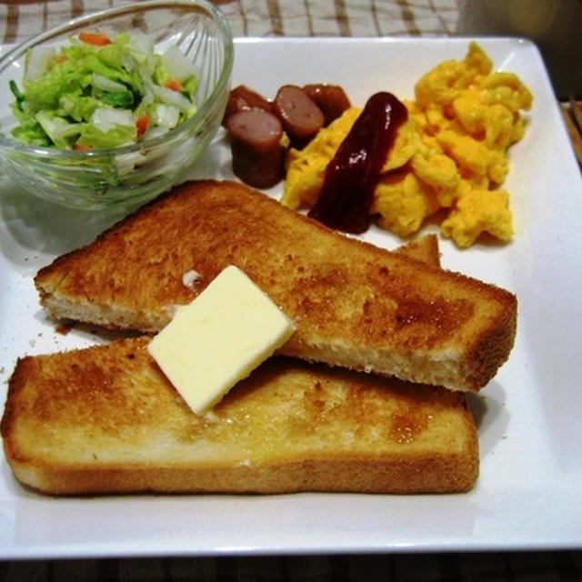米粉食パンで日曜日の朝ごはんと、サンドイッチ弁当