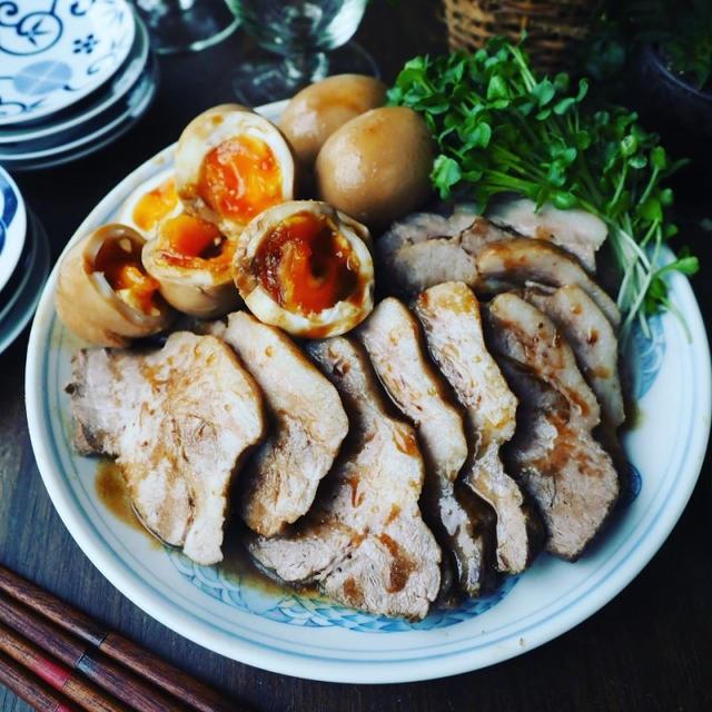 お知らせあり❤️と、お盆におすすめ❤️と、フライパンであっという間にめちゃ簡単♪我が家の煮豚♪