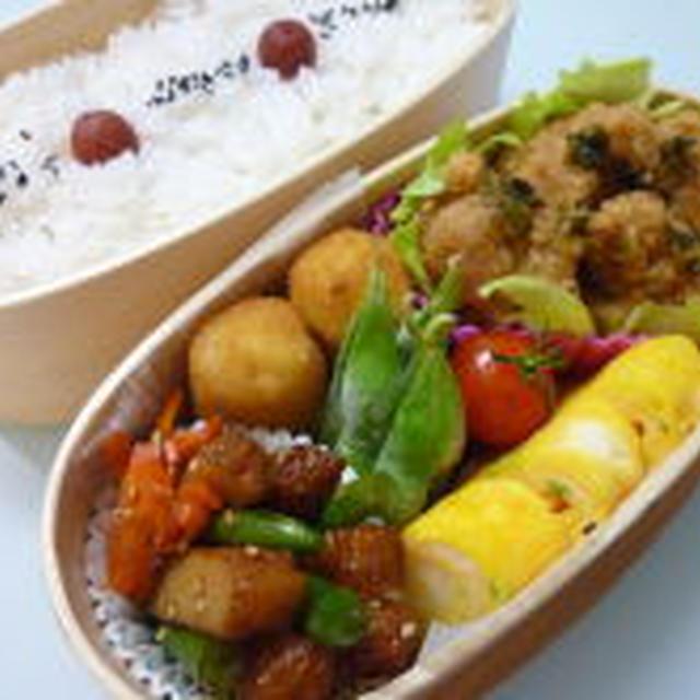7月17日 冷凍竜田揚げでユーリンチー弁当
