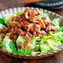 ♡豚肉deお手軽♡焼肉のっけ温キャベツ♡【#簡単レシピ#レンジ#時短#節約】