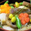 ■続・元日のおもてなし料理③【煮〆/菜園南瓜の麺つゆ煮】