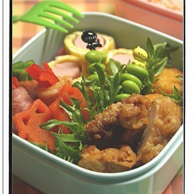 ●高校生女子へのお弁当。