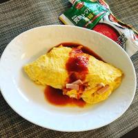 トマトソースで時短、簡単レシピ!