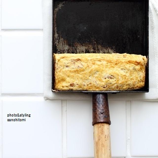 卵焼き器のサイズと「だし巻き玉子」のレシピ