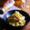 カリフラワーとベーコンのレンチン!シンプル☆ガーリックペパーポテトサラダ