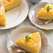 ホットケーキミックスで簡単!みかんのアップサイドダウンケーキ