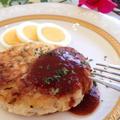 スパイスで華やか♡しゃきふわ経済的♡豆腐ともやしのハンバーグ by Mariさん