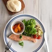 オイルサーモンで豪華に! ポリ袋で夕食セットを作る方法~マイナビニュースに掲載~