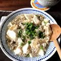【豆腐・きのこレシピ】味付けめんつゆ1本!豆腐ときのこのそぼろ煮