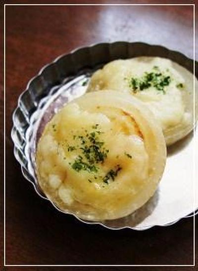 QUICK★【玉ねぎのチーズ焼き】おつまみおかず♪【シルクエビスレシピコンテスト】開催中