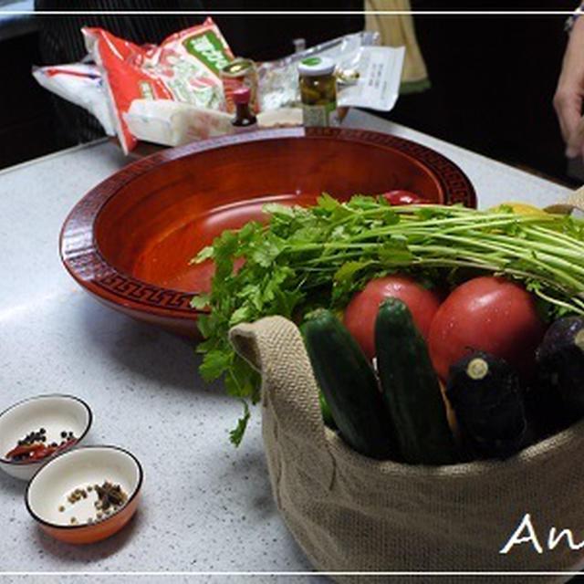 ☆モロッコ料理イベント:野菜サラダ&野菜ペスト☆