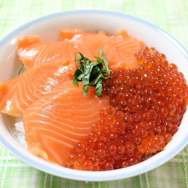 鮭いくら丼 調理時間5~15分