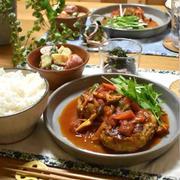 【レシピ】豆腐煮込みハンバーグ✳︎野菜たっぷり✳︎アスリートっぽい?って思ったよ。