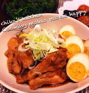 スイッチONと放置で完成♪ほろほろほどける鶏のさっぱり煮♡