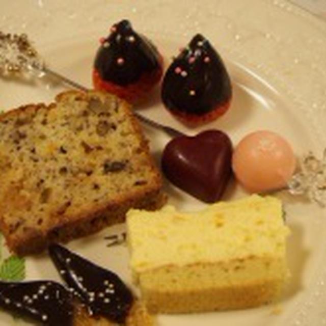 ホットケーキmixで☆ホワイトチョコでしっとり大人なバナナケーキ☆