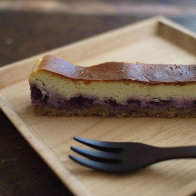 復活・ブルーベリーチーズケーキ。