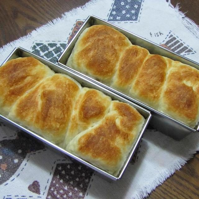 ふんわりやわらかい 夕乳パン