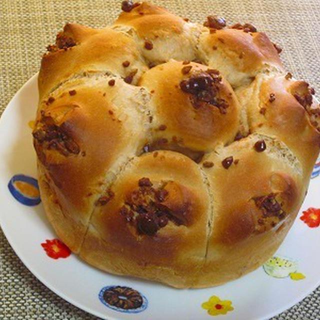 ふわふわ~な黒蜜ちぎりパン♪
