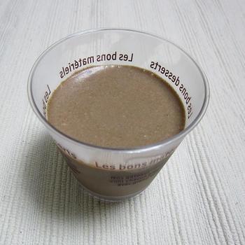 豆腐チョコムース