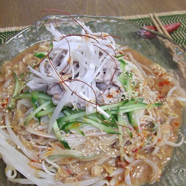 冷し坦々素麺